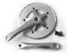Espresso alloy 48t single speed crankset for bike bicycle - silver