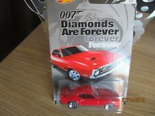 HOTWHEELS JAMES BOND DIAMONDS ARE FOREVER 1971 FORD MUSTANG MACH 1