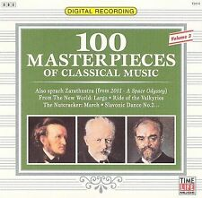100 Masterpieces of Classical Music, Vol. 3 [Time-Life] (CD, Time/Life Music)