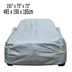 SUV Full Size Car Cover Aganist UV Protection Anti-scratch Snow Dust Waterproof