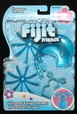Fijit Friends Blue Logan Radica Accessory Pack Ears Earlets Bracelet New Toy