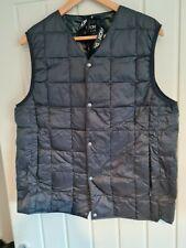 Taion charcoal Gilet/Vest size UK large oi polloi