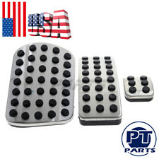 Stainless Steel Sport Pedal Pads for Mercedes Benz  M GL R Class AMG