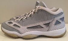 Rare AIR JORDAN 11 RETRO LOW SILVER/ZEST-WHITE 306008-072 SIZE 10.5 Cool Grey