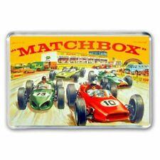 RETRO MATCHBOX TOYS -GRAND PRIX RACETRACK R4 ROADWAY ARTWORK JUMBO Fridge Magnet
