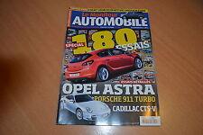 Le Moniteur N°1463 Cadillac CTS-V.Porsche 911 Turbo.Astra 1.7 CDTi 125