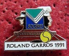 PIN'S TENNIS ROLAND GARROS SOGERES 1991 ARTHUS BERTRAND