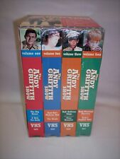 The Andy Griffith Show 4 VHS Tape Box Set 8 Classic Episodes