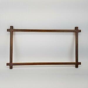 Cross Corner Wood Frame for Needlework Stitchery Vintage 1987 Creative Circle
