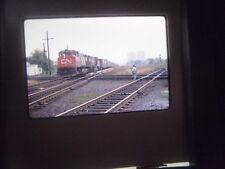 Original Slide Train RR Station depot PA CN Freight fan rail club bed line pass