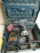 BOSCH GSB 14.4-2-LI HAMMER DRILL, CHARGER AND 2 BATTERIES + Hard case