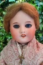 Girl Doll Bisque Antique Dolls