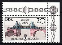 DDR 1985 Mi. Nr. 2973 Eckrand Postfrisch (24825)