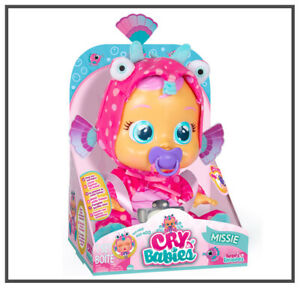 BRAND NEW Cry Babies Missie Crying Baby Doll With Dummy