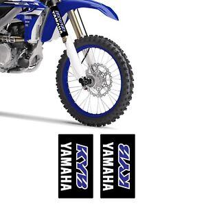 YAMAHA KYB Front Fork Sticker Set YAMAHA YZF/YZ MOTOCROSS FACTORY DECAL