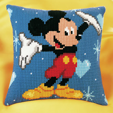 Vervaco - Cross Stitch Cushion Front Kit - Mickey Mouse - PN-0014602