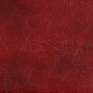 G493 Red Distressed Leather Look Upholstery Bonded Leather By The Yard