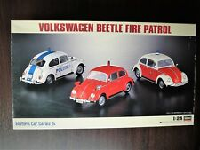 HASEGAWA 1/24 VOLKSWAGEN  BEETLE FIRE PATROL Valuable Rare & Vintage !