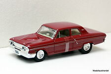 FORD FAIRLANE Thunderbolt 1964 - red - 1:24 MAISTO - NEU - UVP 19,99€