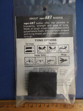floating ant body corpo formica materiale costruzione fly tying