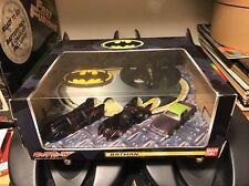 🦇Hot Wheels Chara Batman 1989 Batmobile Batwing Joker Goon Armored Bandai 1:64