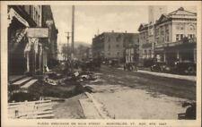 Montpelier VT 1927 Flood Damage VINTAGE EXC COND Postcard #21