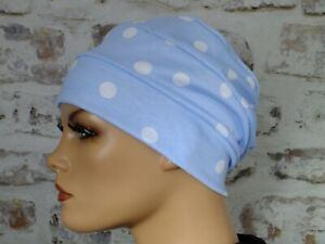 Cotton Jersey Hat, full lining. Head wear for Hair Loss .Cancer, Chemo,