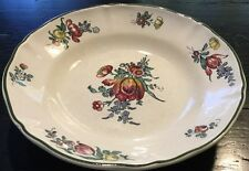 "VNT Villeroy & Boch Mettlach Old Strasburg SA AR-BASIN footed 8"" SERVING BOWL*"