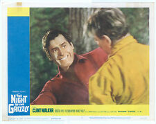 NIGHT OF THE GRIZZLY Lobby Card #2 - CLINT WALKER