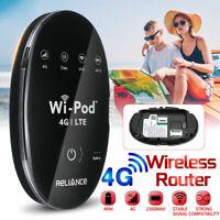 UNLOCKED 3G WiFi 4G LTE ZTE WD670 150Mbps MiFi Wireless Hotspot  HSDPA Wi-Pod
