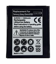 Battery compatible for SAMSUNG GALAXY S3 MINI i8190 EB425161LU 1500 mAh