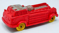 Auburn #614 1/43  Rubber Truck AFD 3 Fire Engine