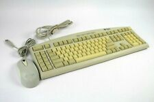 Vintage Sun Microsystems Type 6 PS/2 Keyboard w/3-Button Scroll Wheel USB Mouse