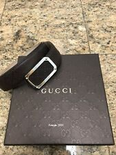 Gucci Hilary Lux Diamante Leather Belt