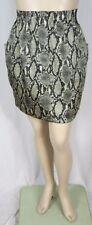 Animal Print Above Knee Machine Washable Skirts for Women