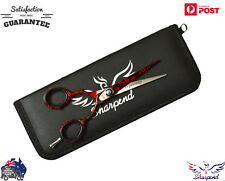 """5.5""""Barber Shears Hair Cutting Scissors Professional Hairdressing Shears + Pouch"""
