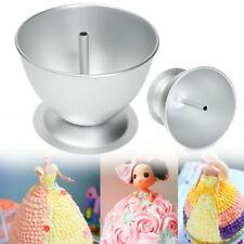 3D Princess Dress Doll Cake Mold Fondant Baking Pan Decorate Making Mould Tin US