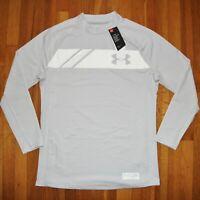 Under Armour UA Gametime ColdGear Long Sleeve Mock Shirt Mens XL 1345211-014 New