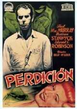 "Double Indemnity Perdicion Movie Poster Mini 11""X17"""