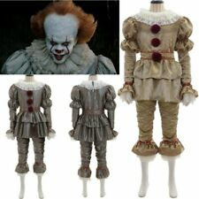 Pennywise Scary Clown Cosplay Costume Adults/Kids For Halloween & Thematic Party