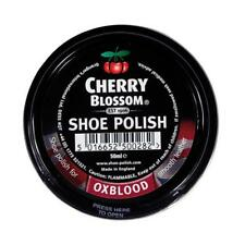 Cherry Blossom Traditional Oxblood Shoe Polish Paste 50ml - Smooth Leathers New