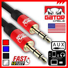 AUX AUXILIARY 3.5mm Cable Male to Male Car Audio Cord iPhone Samsung HTC 6FT 3FT