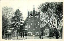 1915-30 Postcard First Baptist Church McLeansboro IL Hamilton County Unposted