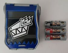 Power Rangers Dino Charge Blue Com W/ 3 Chargers #15- #2- #22 Fukuiraptor Foil