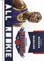 2012-13 Panini Marquee All-Rookie Team Laser Cut #20 Chris Webber