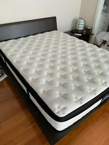 Giselle Bedding Euro Top Mattress - Queen Size