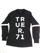 New True Religion Confetti Jumper Medium M Made in USA 100% Authentic