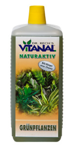 Vitanal Naturaktiv Green Plants Purely Organic Environment for the Sake 1 Litre