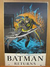 Vintage 1991 DC Comics Batman Returns Poster 11869