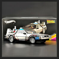 Hot Wheels 1:18 Scale Car Model Back to the Future DMC-12 Time Machine